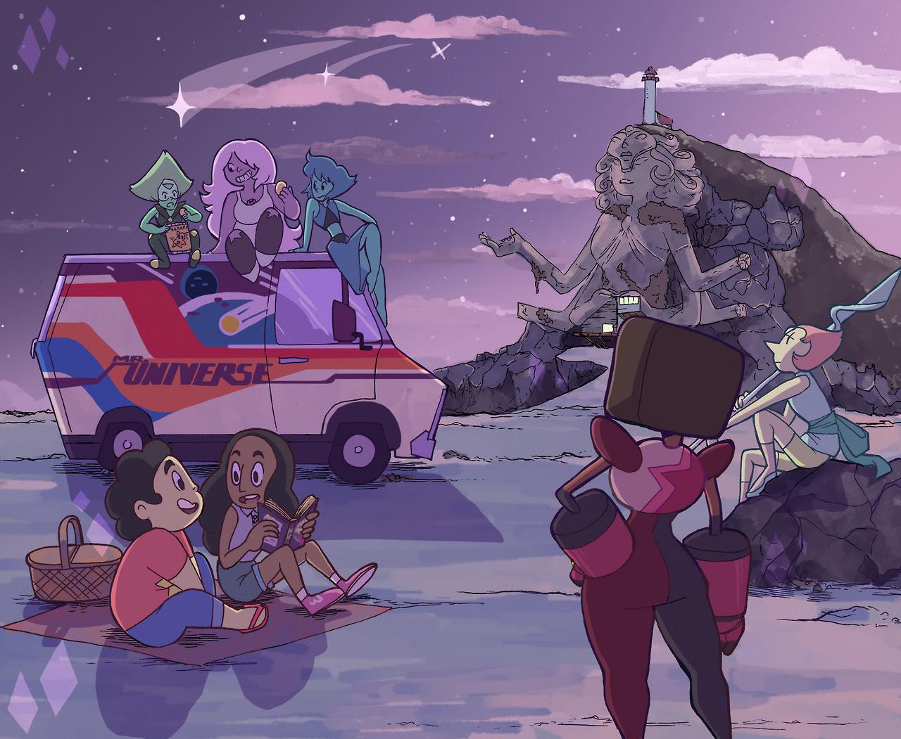 Steven Universe print for Kingston Comi-con in Oct!