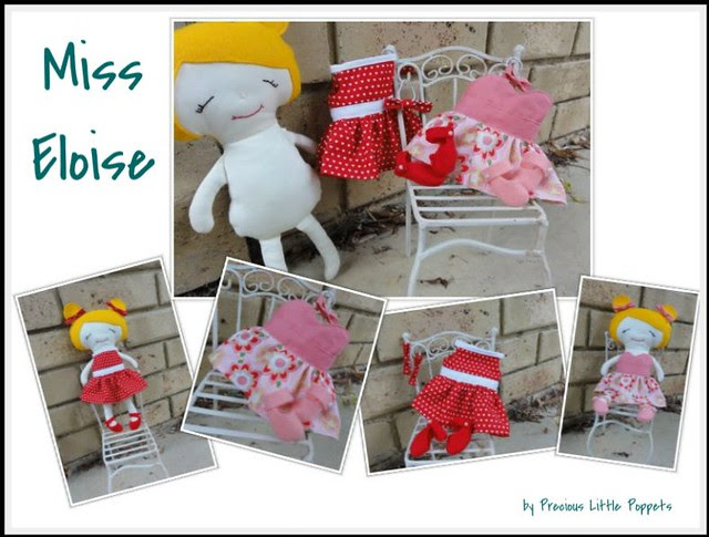 Precious Little Poppets dress up doll