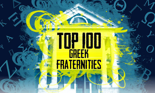 Top 100 Fraternities in the Country Picked By Our Readers