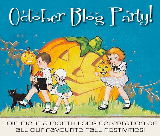 blog lovelymissmegs megan blog party october halloween fall