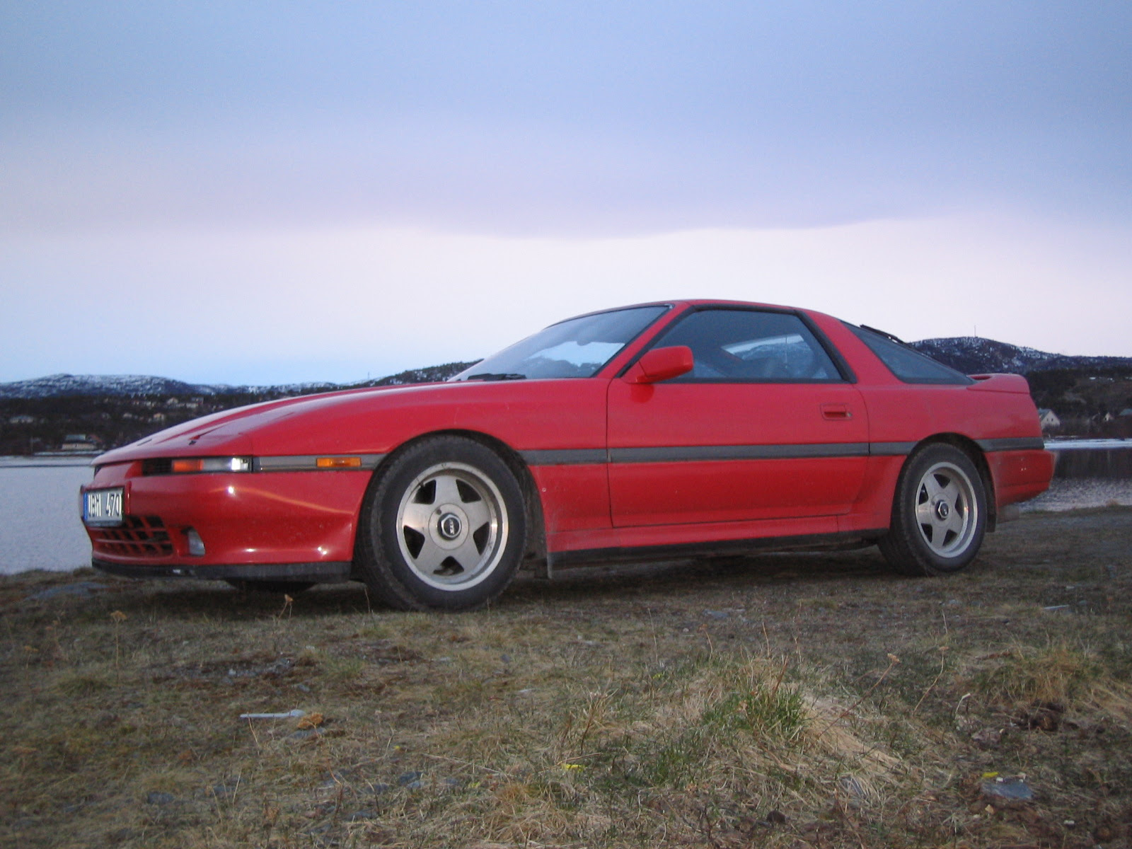 1991 Toyota Supra 2 Dr Turbo Hatchback picture, exterior
