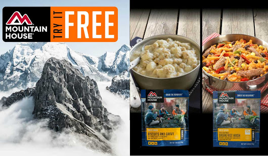 Attention Hunters, Hikers and Campers: Free Food from Mountain House! | OutdoorHub