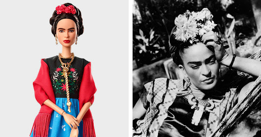Frida Kahlo Is a Barbie Doll Now. (Signature Unibrow Not Included.)