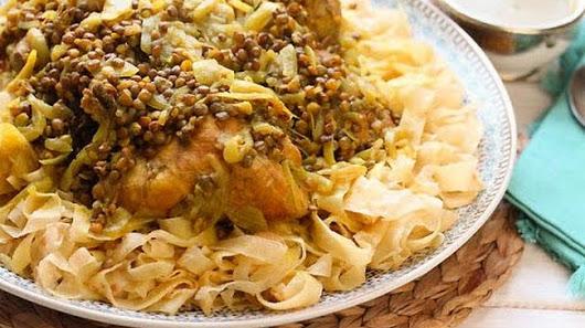 Un plat traditionnel de la cuisine marocaine rfissa - Maroc cuisine traditionnel ...