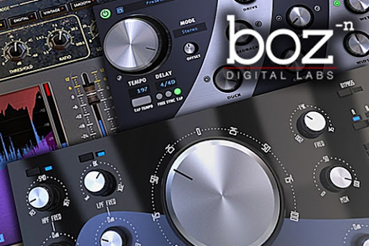Boz Digital Labs - Save 40% On Three Seperate Plug-ins - Manic Compressor, Imperial Delay & T-Bone