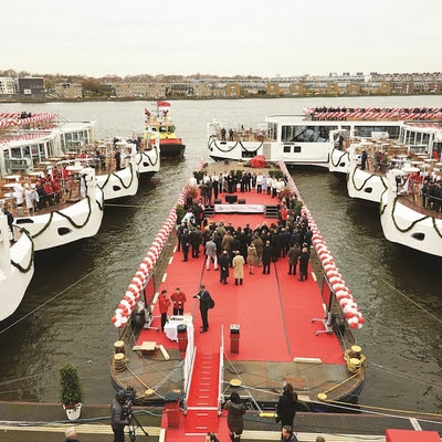 Viking Cruises Christens 18 New European River Ships in One Week