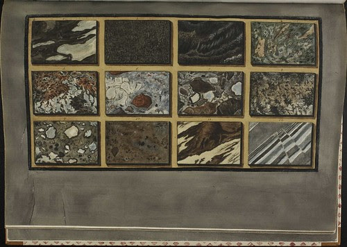 Plate 50, rock and marble from Mt. Vesuvius