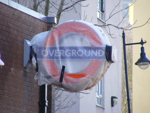 Shadwell London Overground station by Mr. Grossman