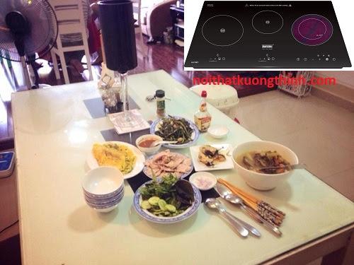 Những công dụng tuyệt vời của bếp điện từ