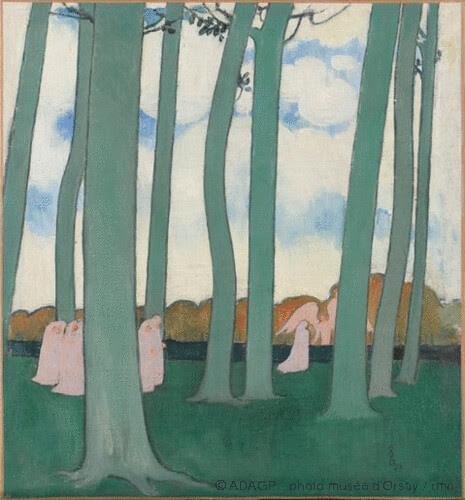 Paysage aux arbres verts, Maurice Denis, 1893