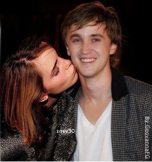 Emma Watson And Tom Felton Kissing Scene Emma Watson Age