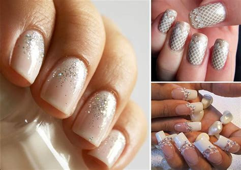 Modern Bridal Manicure Inspiration   Confetti.co.uk