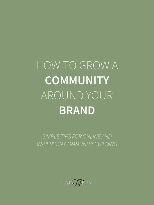 How to Grow a Community Around Your Brand (Online + In-Person)