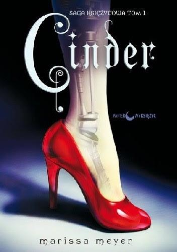 Okładka książki Cinder