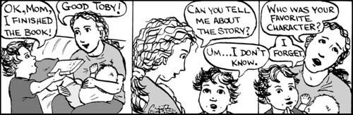 Home Spun comic strip #225