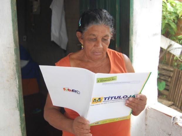 Regularização gratuita de terrenos vai até final de março em Cacoal, RO (Foto: Rogério Aderbal/G1)