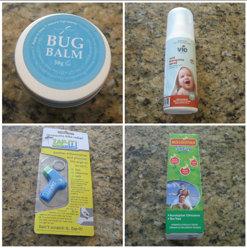 Keeping the bugs away plus giveaway