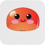 Cute RPG Slime - Red Coaster by TooLoud