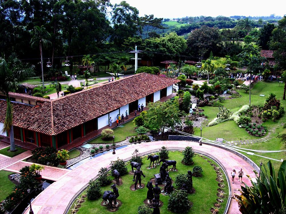 Parque del Cafe, Quindio, Colombia