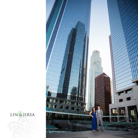 Downtown Los Angeles Engagement   Lauren & Andrew