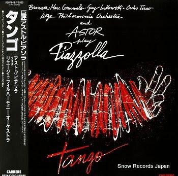 PIAZZOLLA, ASTOR tango