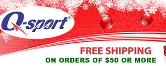 Huge Pre-Holiday Deals & Great Gift Ideas from Q-sport - Plus FREE SHIPPING OFFER!
