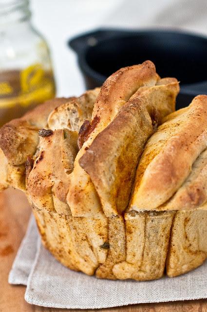 Mediterrean Pull Apart Bread