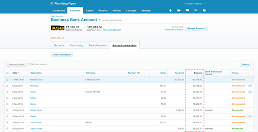 Balance your books with future dated transactions | Xero Blog