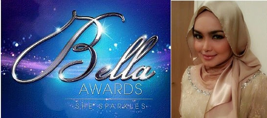 Dato Siti Nurhaliza Tercalon Bella Awards