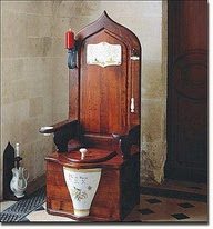 If someone in Houston loves old school toilets, this is for them.