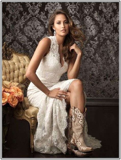 Cowboy Wedding Dresses   Country Wedding Bridesmaid