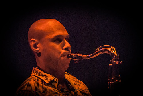 The Bad Plus with Joshua Redman + Jeremy Pelt Quintet - Mon 23 July 2012 - The Queen's Hall, Edinburgh -0031-2