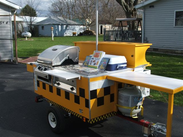 Awesome E Z Built Hot Dog Cart Lee Vestals Checkers Street Grill