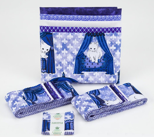 Royal Kitty Fabric Bella Precut Pack Giveaway