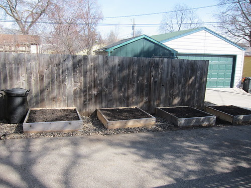 New Smaller Raised Beds