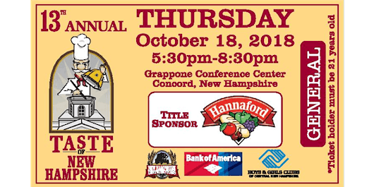 13th Annual Taste of New Hampshire