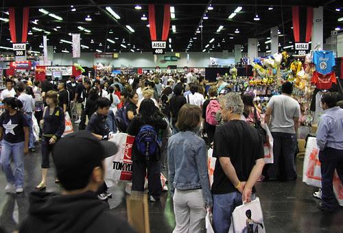 Anime Expo exhibit / dealers hall