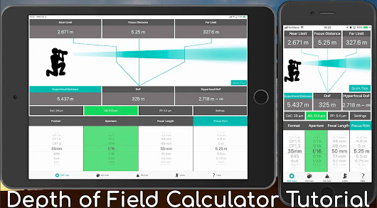 Photographer's Friend Depth of Field Calculator Tutorial (Podcast 634) • Martin Bailey Photography