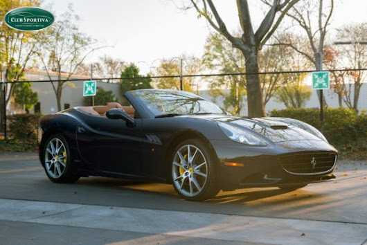 New Car Alert - Ferrari California in Blu Pozzi - Official Club Sportiva Blog