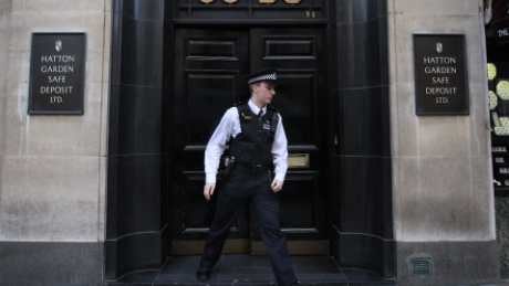 Huge haul of gems and cash stolen in Hatton Garden heist in London