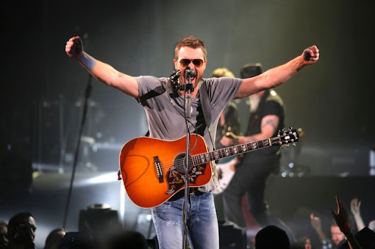 Country rocker Eric Church brings Calgary fans to feet during Saturday Saddledome show
