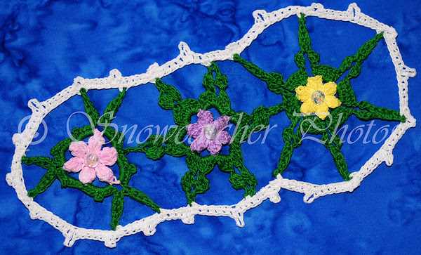 Gardenized Garden Snowflake Bookmark