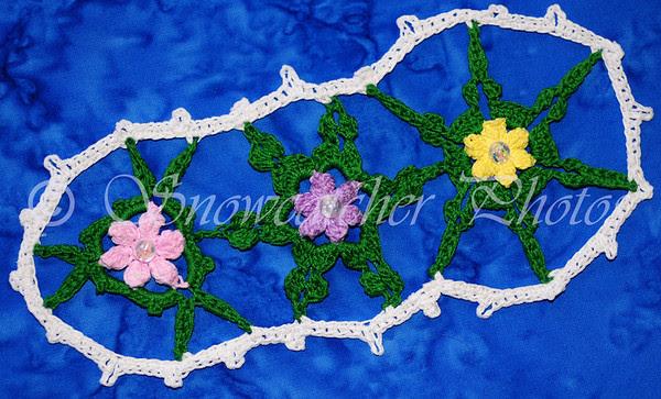 Gardenized Garden Snowflake Bookmark