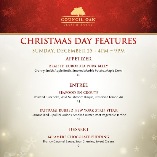 Celebrate The Holidays With Custom Menus At Seminole Hard Rock Tampa | Seminole Hard Rock Tampa Blog