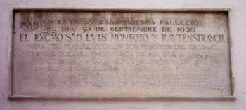 Imagen de Placa: Muere Luis Montoto