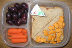 Fishy crackers go with everything :)