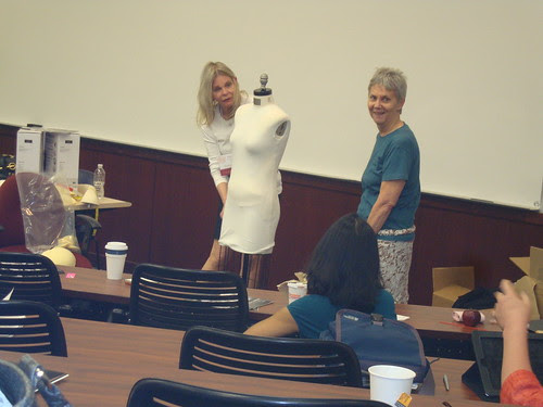 Jill demoing the Fabulous Fit fitting system