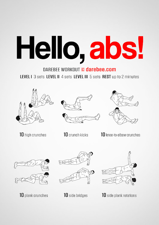 Hello, abs! Workout