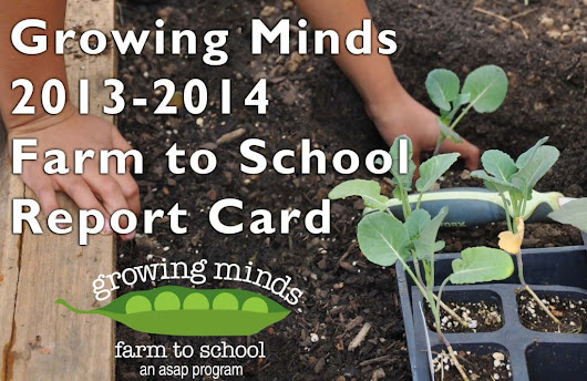 2013-2014 Growing Minds Report Card - Growing Minds