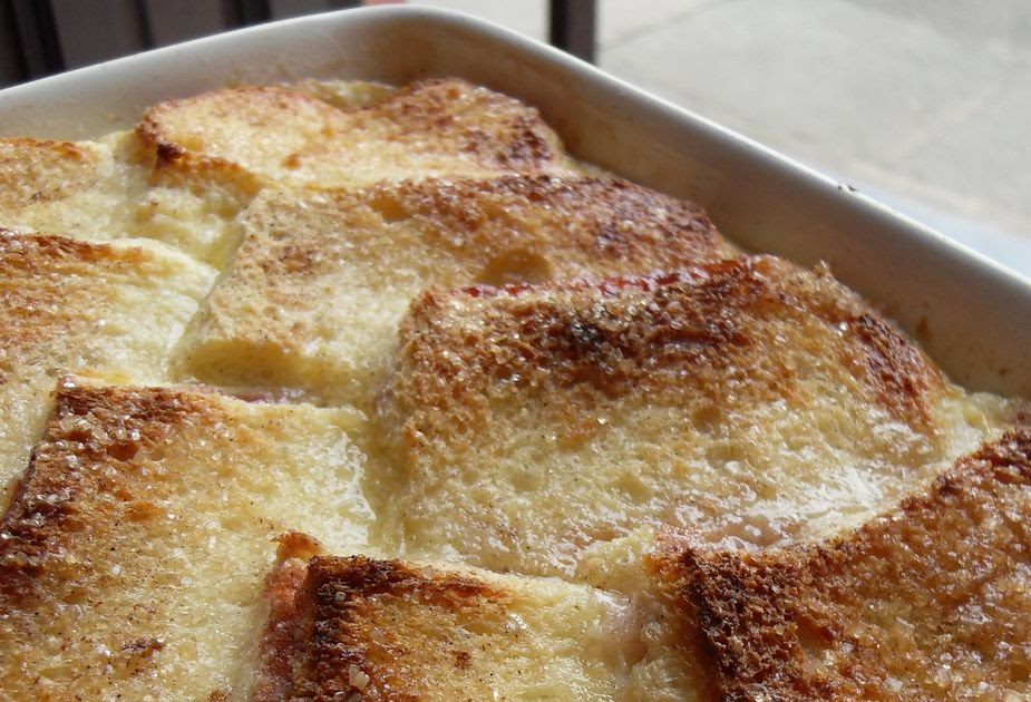 The English Kitchen: Strawberry Bread and Butter Pudding